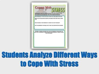 Stress and Health Activity Bundle