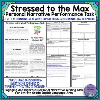 Narrative Performance Tasks Worksheets & Teaching Resources