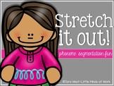 Stretch It Out! {phoneme segmentation fun}