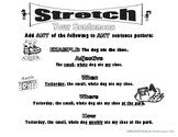 Stretch Your English Sentences (B&W) Basic