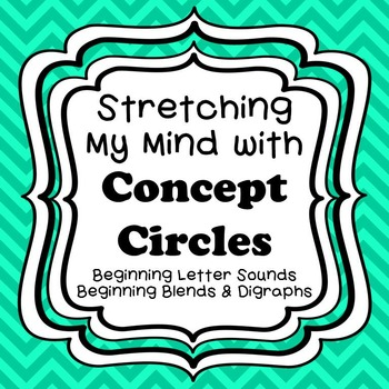 Stretching My Mind with Concept Circles-Beginning Letters,