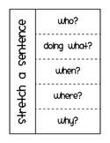 Stretch a Sentence Flip Book