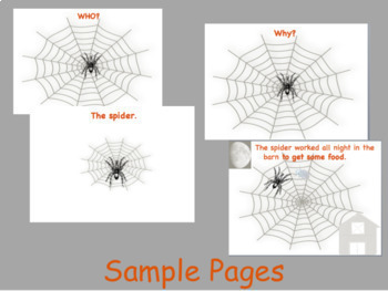 Stretch a Sentence: Lesson, Activity, Samples HALLOWEEN VERSION