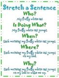 Stretch a Sentence Mini Poster