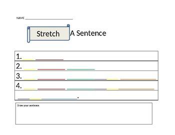 Stretch a sentence