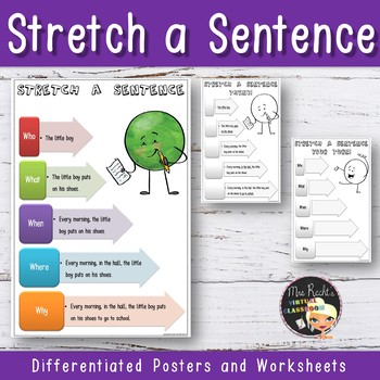 Stretch a sentence - Anchor Chart