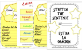 Stretch the Sentence- A guide that helps kids add to a sentence