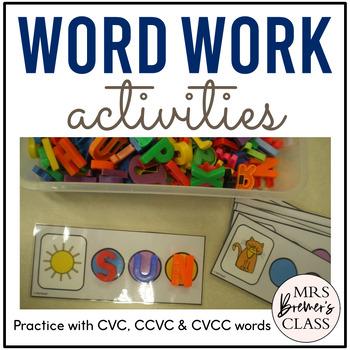 Word Work Activities