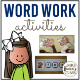 Word Work Activities