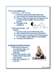 Stretches and Warm-Up Activities: Guidelines, Directions and Images