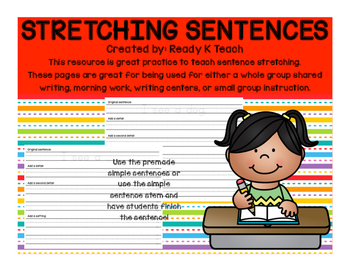 Stretching Sentences!
