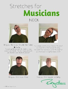 Stretching for Musicians Poster Set