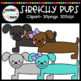 Stretchy Pups Clipart
