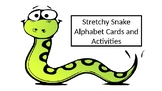 Stretchy Snake Alphabet and Activity Mats