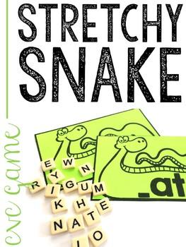 Stretchy Snake CVC Game