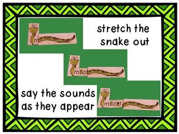 Stretchy Snake Decoding Strategy - Short A