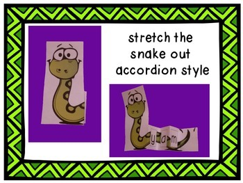 Stretchy Snake Decoding Strategy - Short U