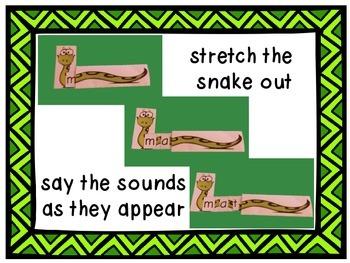 Stretchy Snake Decoding Strategy - Short Vowel BUNDLE