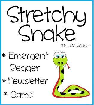 Stretchy Snake Emergent Reader