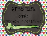 Stretchy Snake Reading Strategy Activity Pack