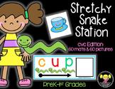 Stretchy Snake Station: cvc words