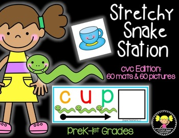 Stretchy Snake Station: cvc words