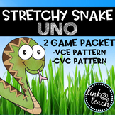 Stretchy Snake UNO 2 Game Packet