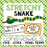 Stretchy Snake Words {Long Vowels}