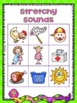 Stretchy Sounds- Phoneme Segmentation Bingo for Guided Reading and RtI