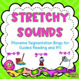 Stretchy Snake's Sounds- Phoneme Segmentation Bingo for Gu