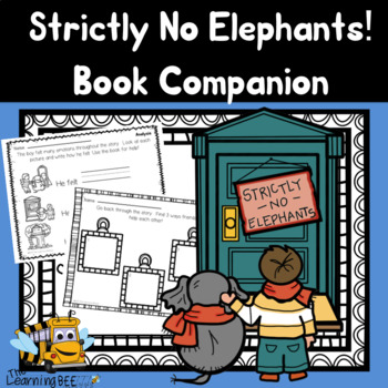 Strictly No Elephants! Differentiated Book Companion