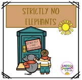 Strictly No Elephants Book Activities