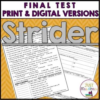 Strider Final Test
