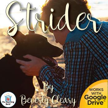 Strider Novel Study Book Unit