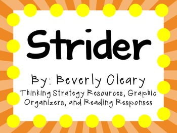 Strider by Beverly Cleary: Character, Plot, Setting