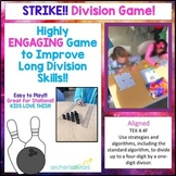 Strike!! A Division Math Game to Improve Long Division Ski