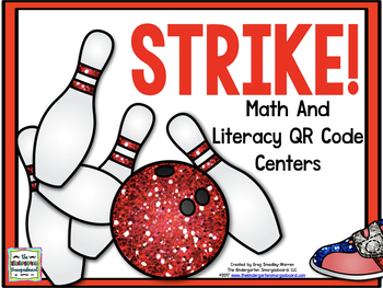 Strike!  Bowling For QR Codes!  A Common Core QR Code Creation!