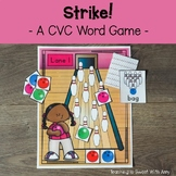 Strike - Bowling for CVC Words