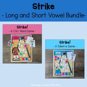 Strike - Bowling for Short and Long Vowel Bundle