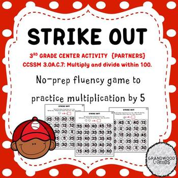 Strike Out: A Multiplication Fact Game for Fluency with 5s