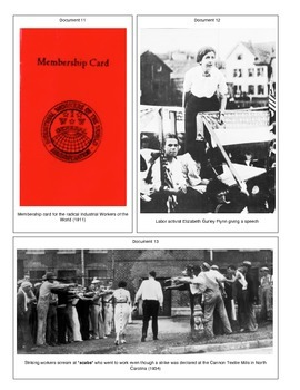 Strike: The Birth of the US Labor Movement (Document Packet) (1 of 2)