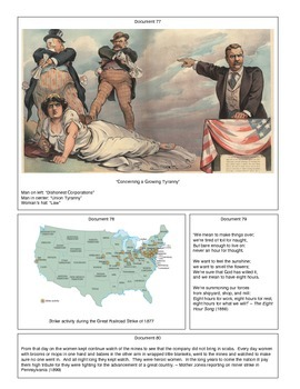 Strike: The Birth of the US Labor Movement (Document Packet) (2 of 2)