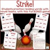 Vowel Teams   Bowling Themed BINGO Game