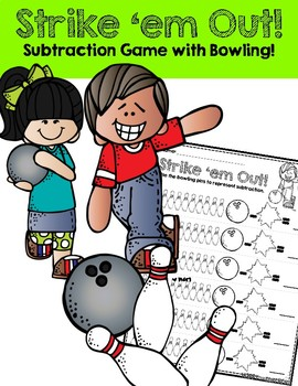 Strike 'em Out!: Subtraction with Bowling