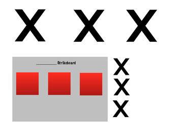 Strikeboard