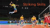 Striking Skills Lesson in PE