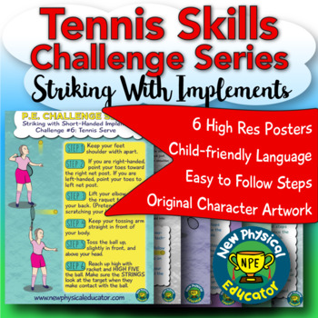 Striking Tennis Challenge for Physical Education
