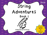 String Adventures Bass Book - A Unique Beginner String Method with MP3s