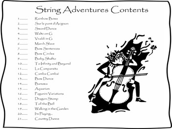 String Adventures Cello Book - A Unique Beginner String Method with MP3s