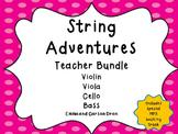 String Adventures Teacher Bundle - A unique beginner String Method
